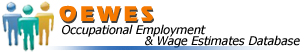 OEWES - Occupational Employment & Wage Estimates Database